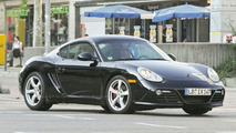 Porsche Boxster and Cayman Facelift Spy Photos
