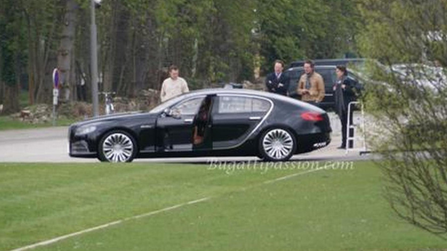 Bugatti 16C Galibier spotted out & about