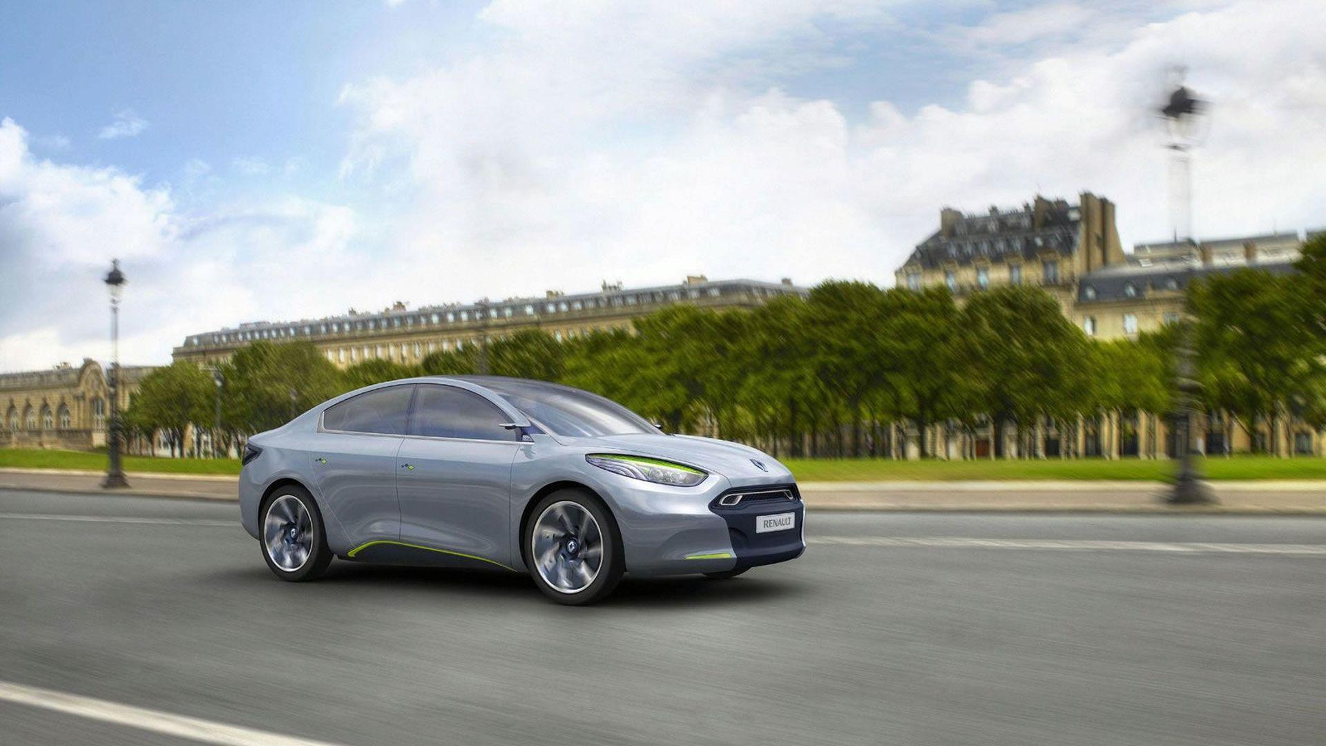 Renault Fluence Zero Emission Z.E. Concept [Video]