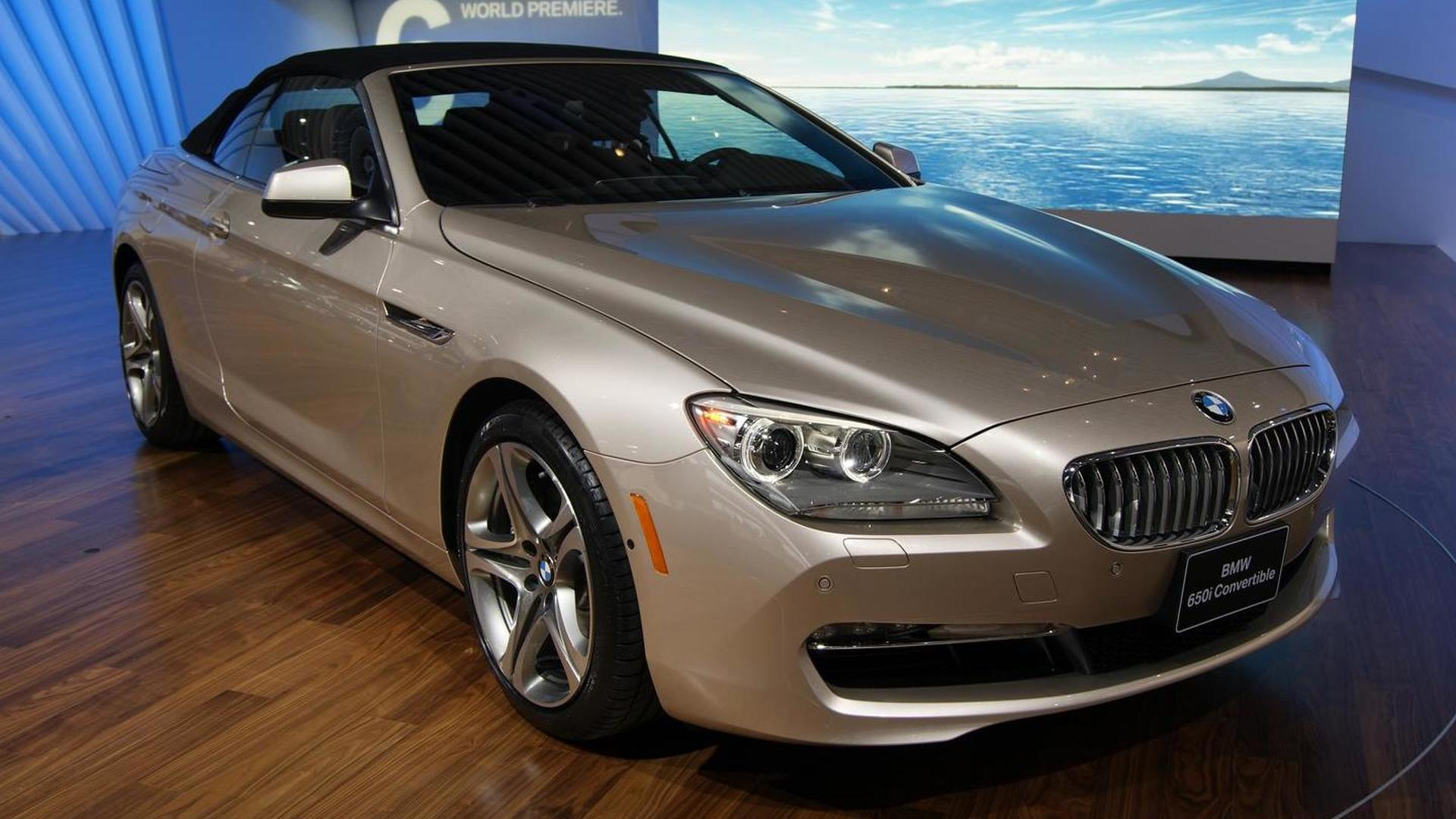 2011 BMW 6-Series Cabrio drops its top in the Motor City