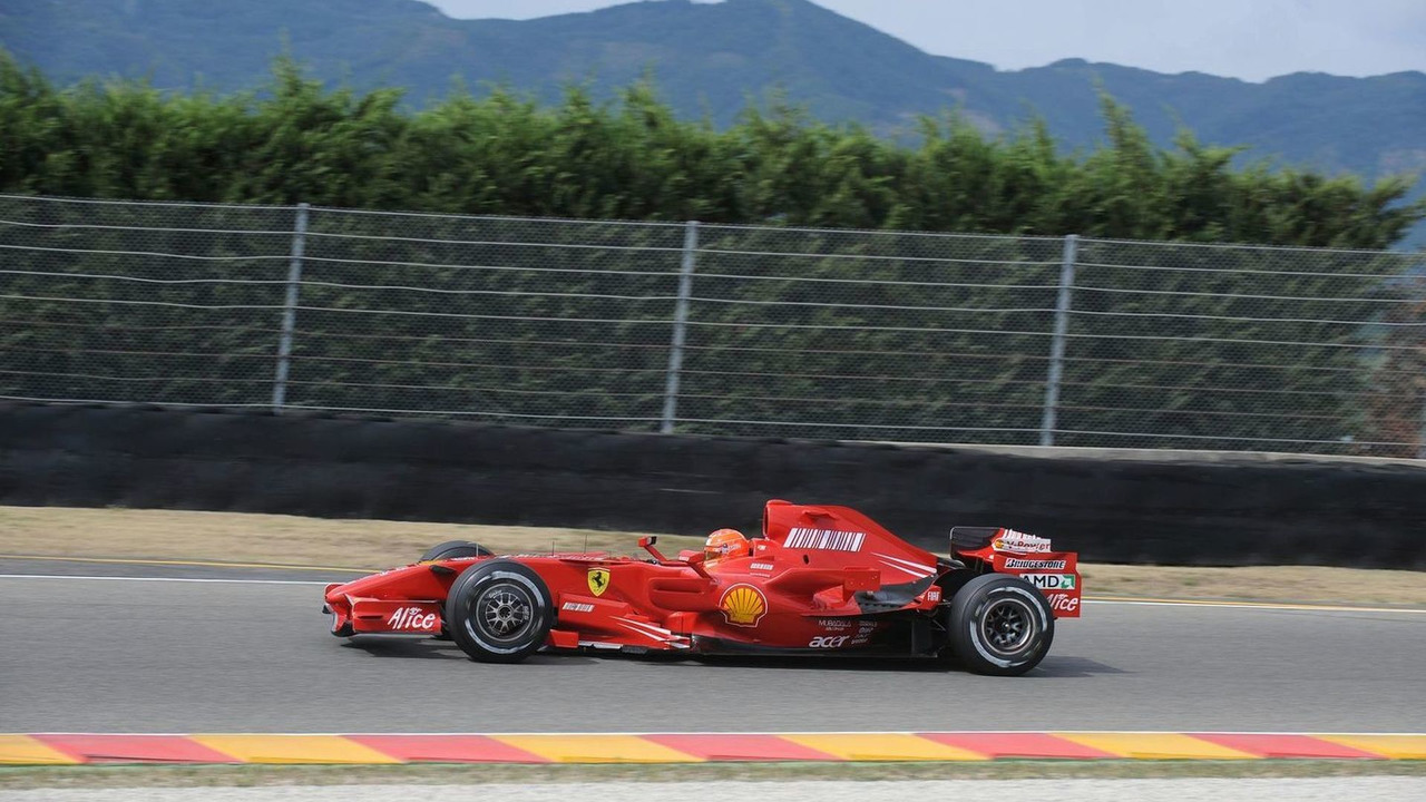 Michael Schumacher in F2007, Mugello, 31.07.2009