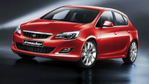 Opel Astra styling kit by Irmscher