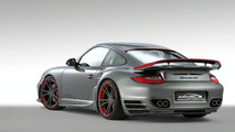 SpeedART BTR II 580 based on 2010 Porsche 911 Turbo Facelift