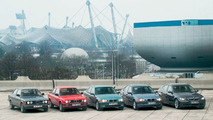 5 generations of BMW 3 Series