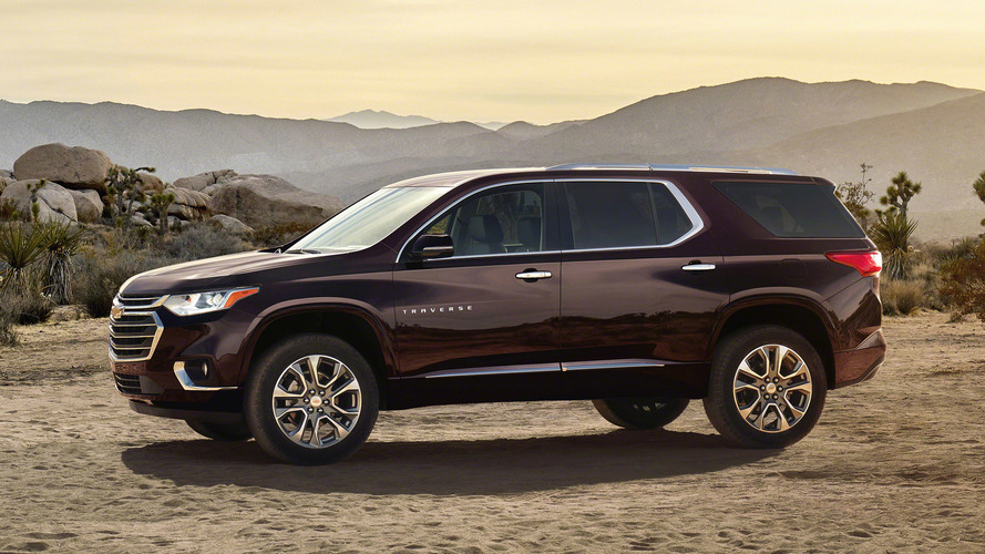 Most Expensive 2018 Chevrolet Traverse Costs $56,070