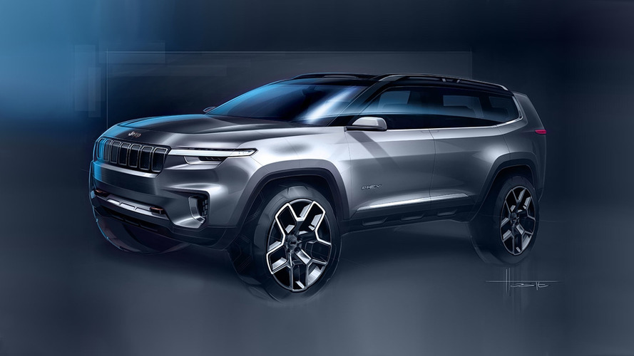 Jeep Yuntu Concept Looks Very Promising In Official Sketches