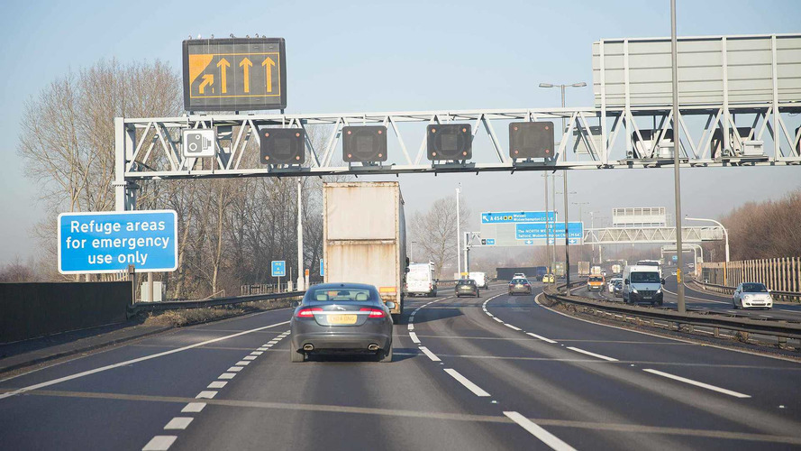 North-west England to get extra 100 miles of smart motorway