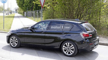 2018 BMW 1 Series facelift spy photo