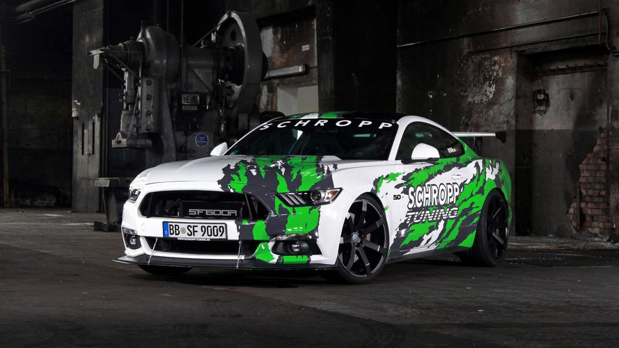German Tuned Mustang Makes 807 HP, 700 Lb-Ft
