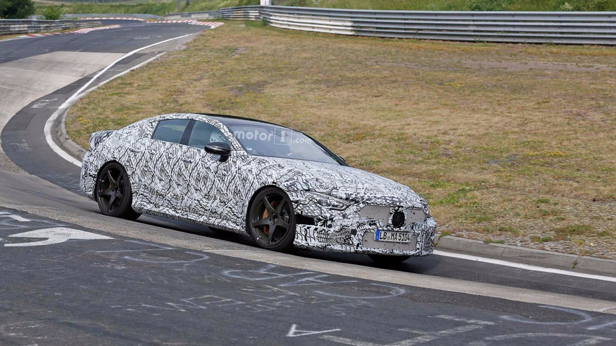 Watch The Mercedes-AMG GT Four Door In Action At The Nurburgring
