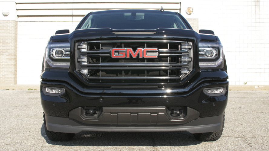 what does the gmc sierra all terrain x get that the standard all terrain does not. Black Bedroom Furniture Sets. Home Design Ideas