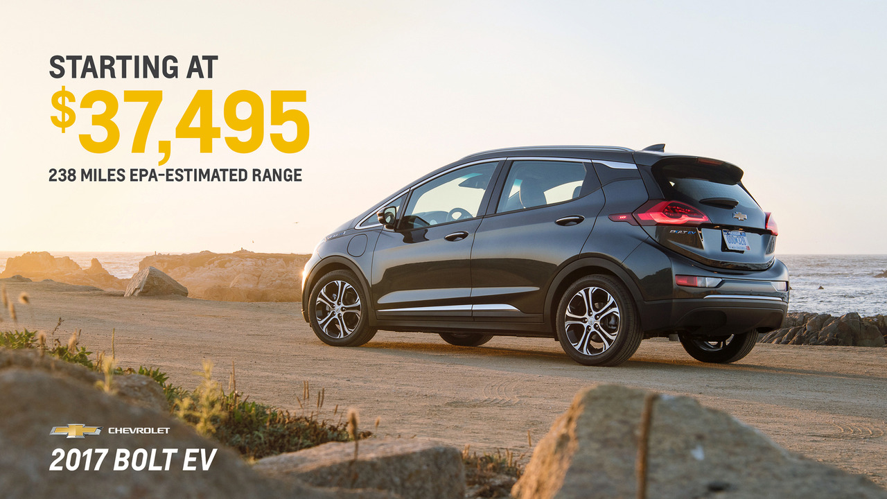 2017 Chevy Bolt Pricing