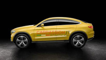 Mercedes-Benz GLC Coupe concept official images hit the web