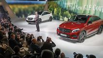 Mercedes GLE 450 AMG Coupe live at NAIAS