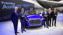 2015 Audi Q7 live at NAIAS