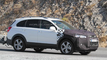 2015 / 2016 Chevrolet Captiva Facelift spy photo