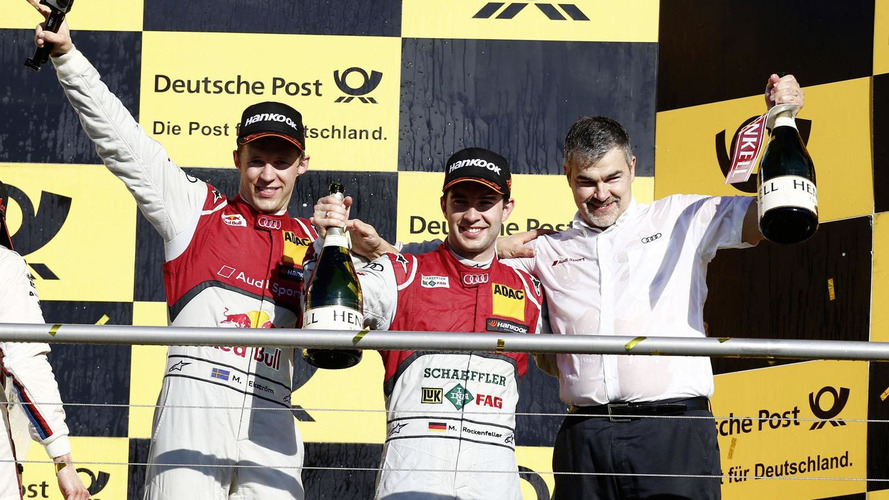 Audi wins the DTM manufacturers championship with a 1-2-3 finish
