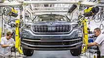 Skoda Kodiaq production starts