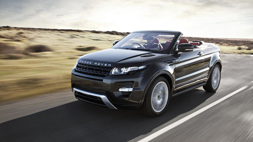 Range Rover Evoque Cabrio gets green-lighted - report