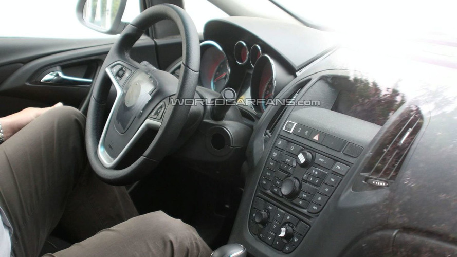 Baby Buick Spied with Undisguised Interior