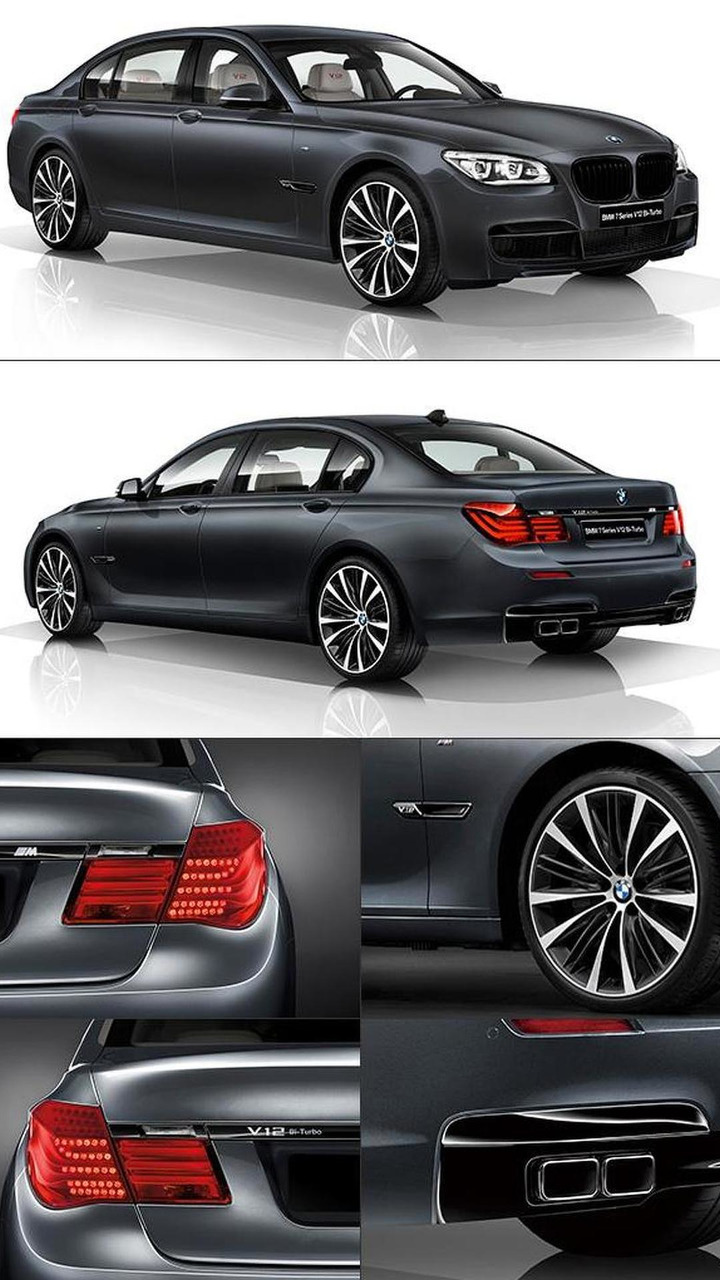 BMW 7-Series V12 Bi-Turbo special edition 23.05.2013