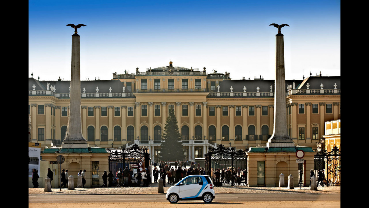 smart car2go a Vienna