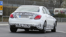 2015 Mercedes-Benz C63 AMG spy photo