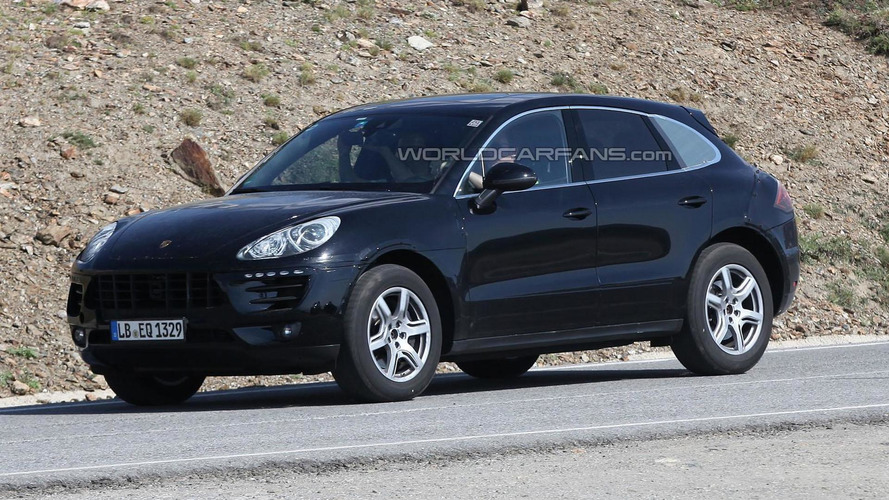 2014 Porsche Macan spied undergoing hot weather testing
