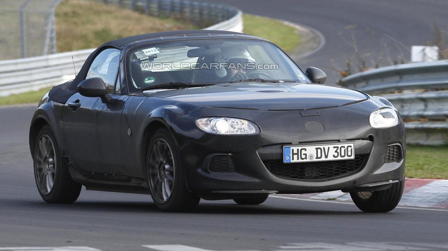 2015 Mazda MX-5 to weigh approximately 2204 lbs - report