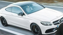 Purported image of the Mercedes-AMG C63 S Coupe