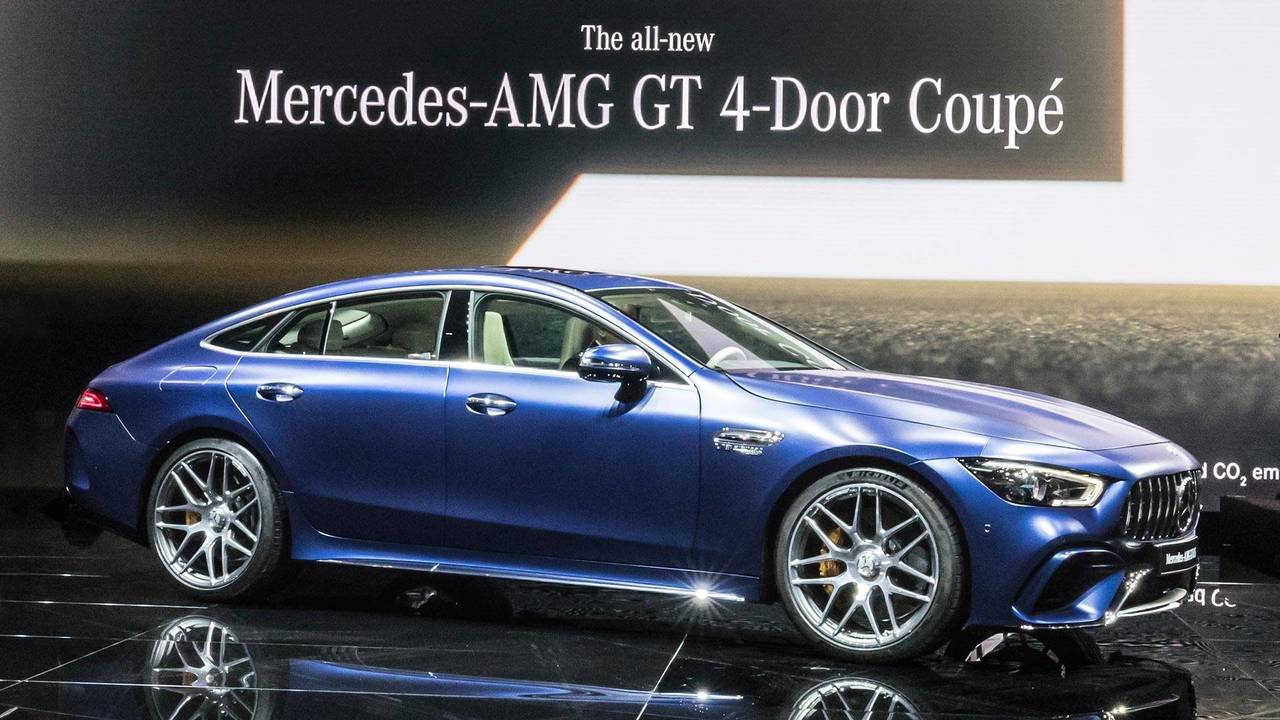 2019 mercedes amg gt 4 door coupe storms geneva with 630 hp. Black Bedroom Furniture Sets. Home Design Ideas
