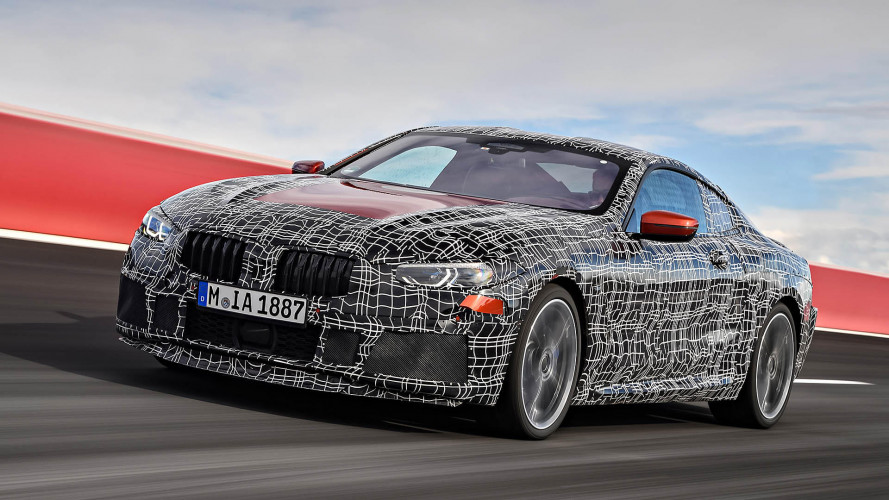 Der BMW 8er im Highspeed-Trainingslager. Mit Video