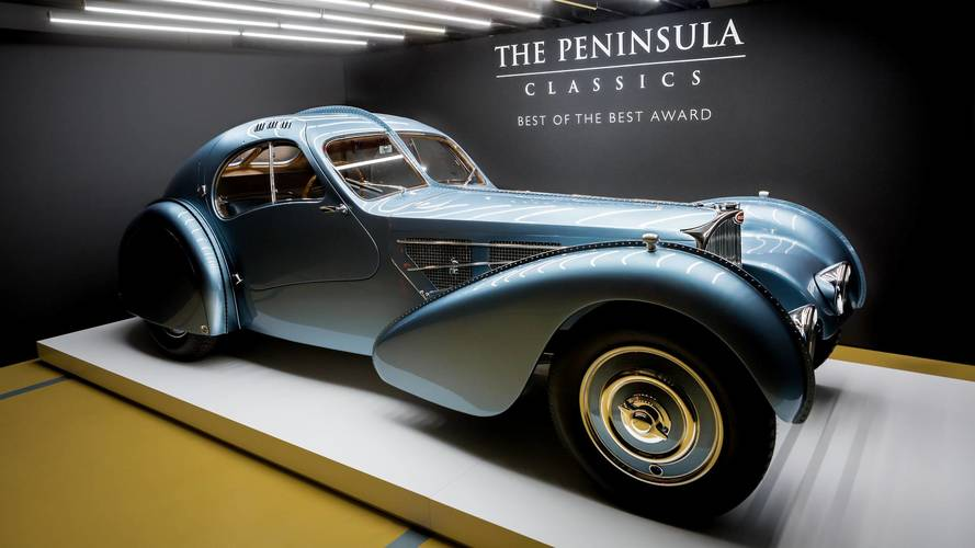 Rare Bugatti takes best in show at Paris concours