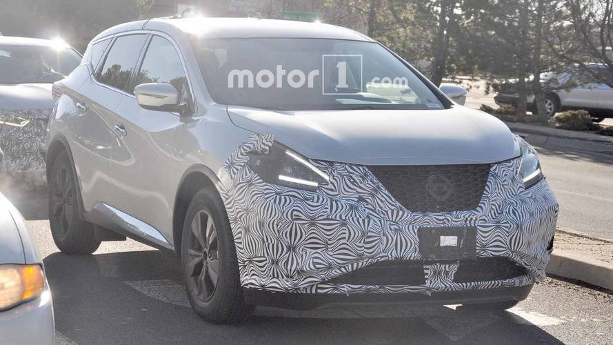 Nissan Murano Refresh Spy Shots