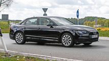 2016 Audi A4 spied undisguised (10 photos)