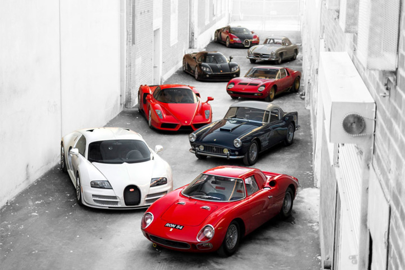 This is the Most Valuable Private Car Collection Ever to Go to Auction