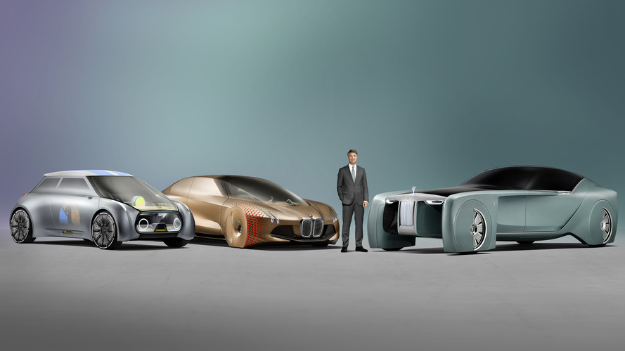 Mini and Rolls-Royce Next 100 Concepts imagine motoring's future