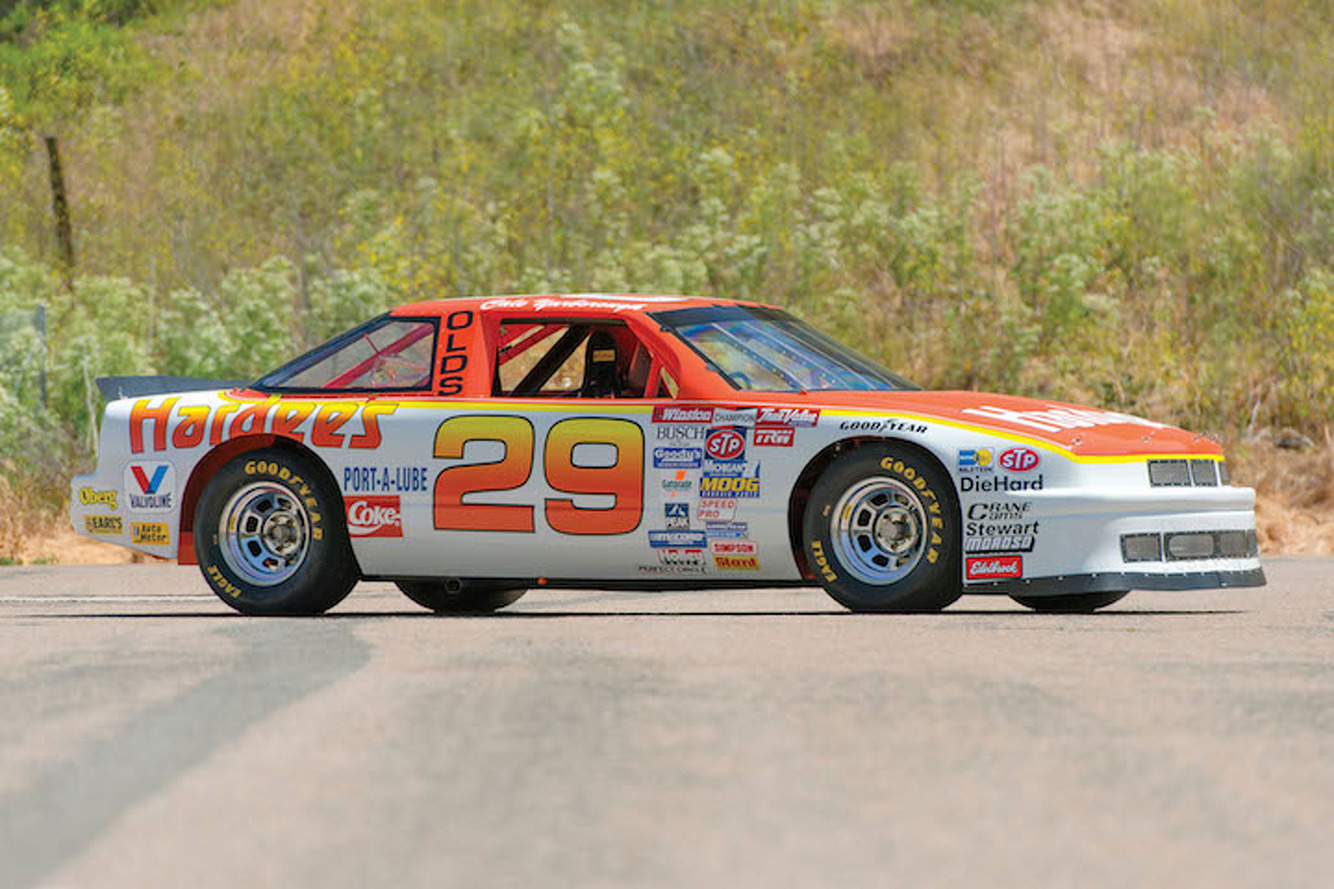 Live Your NASCAR Fantasy with Cale Yarborough's Hardee's Stock Car