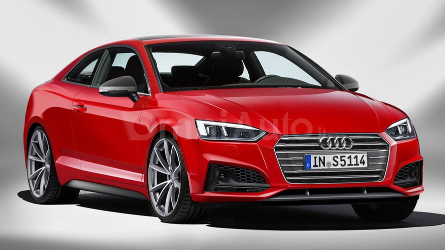 2017 Audi S5 Coupe render seems highly plausible