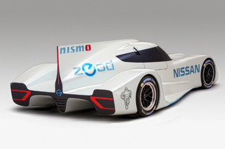 Nissan ZEOD RC Is A 186-MPH Electric Racer