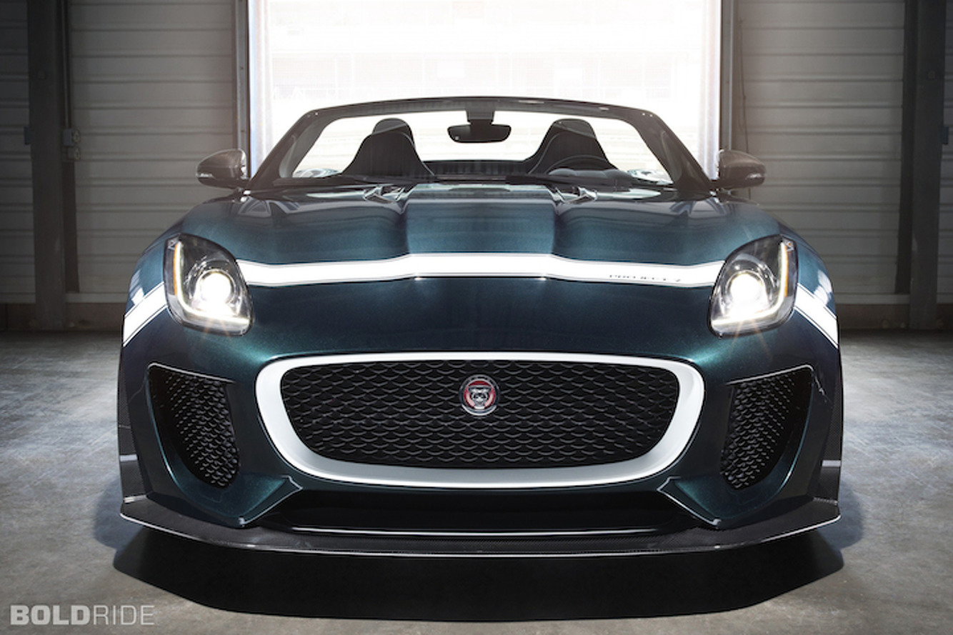 Production Jaguar F-Type Project 7 Leaked Ahead of Goodwood? [UPDATE]