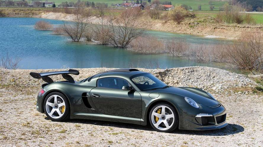 Ruf CTR3 Is Mid-Engined 911 You Didn't Know You Wanted