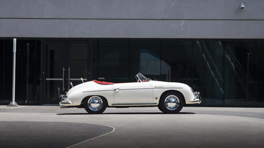 Time-Capsule 356 Super Speedster Set For One-Off Porsche Sale