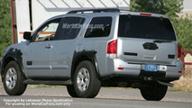 SPY PHOTOS: 2008 Nissan Armada Facelift