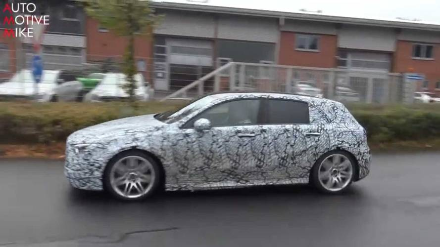 We've spied the new Mercedes A-Class testing at the Nürburgring