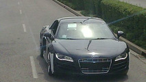 Audi R8 V10 Spy Photos at Nürburgring