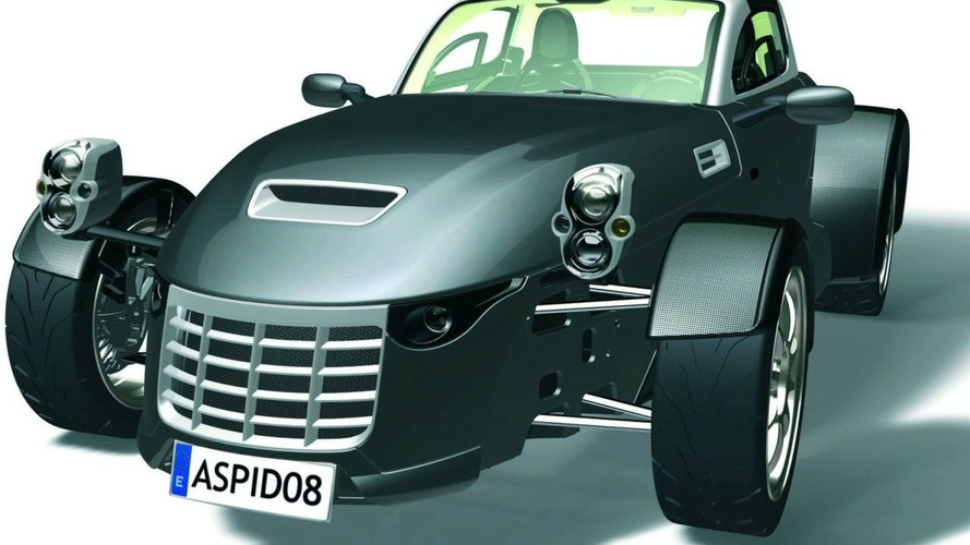 New Aspid Sports Car to be Unveiled at British Motor Show