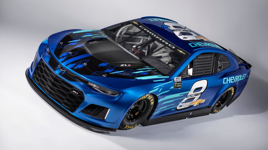 Chevrolet Unveils 2018 Camaro ZL1 NASCAR Race Car For Cup Series