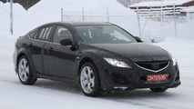 2013 Mazda 6 mule winter testing spy photo