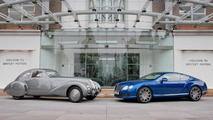 Bentley Embiricos makes a visit at Crewe factory
